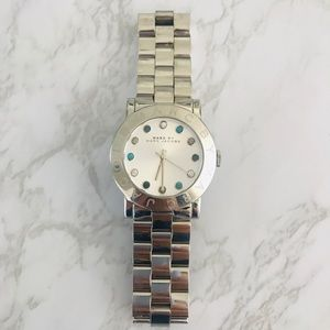 Marc Jacobs diamond-studded watch